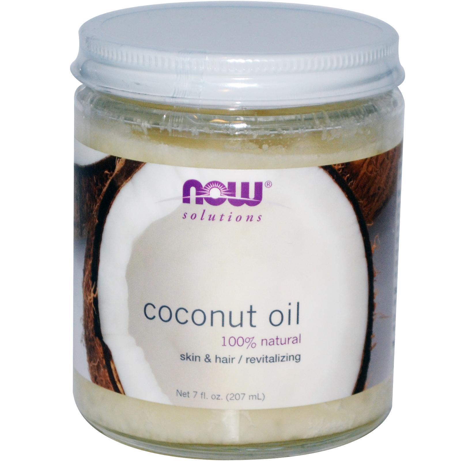 Рафинированное кокосовое масло для волос